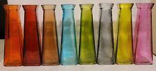 Glass Bud Vases 7.75 in.