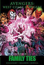 West Coast Avengers: Family Ties Marvel Comics Hc Hard Cover Brand New Sealed