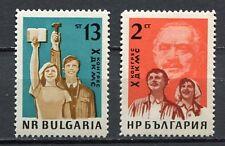 37680) BULGARIA 1963 MNH** Dimitrov's Union 2v