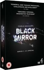 Black Mirror . Complete Series 1-2 + Special . Charlie Brooker's Season . 3 DVD