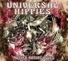 """UNIVERSAL HIPPIES: """"MOTHER NATURE BLUES"""" CD (AWESOME INSTRUMENTAL GUITAR ROCK)"""