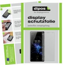 6x Sony Xperia XZ2 Compact Schutzfolie matt Displayschutzfolie Folie Display