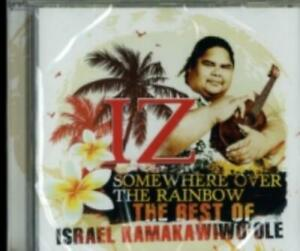 ISRAEL KAMAKAWIWO'OLE: SOMEWHERE OVER THE RAINBOW: BEST OF ISRAEL (CD.)