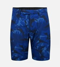 NWT RLX Ralph Lauren Men Torrey Pines Athletic Stretch Golf Shorts BLUE CAMO