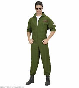 Kampfjet Pilot Kostuem - Jet Pilot Verkleidung Gr. S bix XL