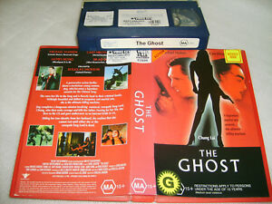 THE GHOST - 2000 R/Vale Film - Chung Lai:Michael Madsen - VHS Action Thriller D1