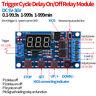 Neu DC5V-36V Zyklus Verzögerung Zeitschaltuhr Relaismodul Board mit LED-Anzeige