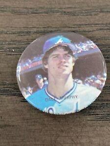 1986 Star Baseball Buttons Dale Murphy Atlanta Braves
