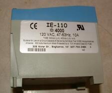 Islatrol Power line surge suppressor Model IE-110,  120 VAC, 10 amps