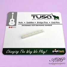 SILLET Graph Tech TUSQ PQ-5010-00 Fender FLAT BOTTOM 44,8mm SLOTTED NUT