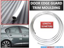 10 Meter Chrome Moulding Trim Strip Car Door Edge Scratch Guard Protector Cover