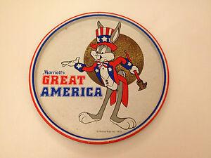 Rare Vintage Retro 1975 Buggs Bunny Marriots Great America Merchandise