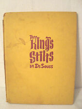 ANTIQUE BOOKS DR.SEUSS THE KING'S STILTS+YERTLE TURTLE &BARTHOLOMEW &THE OOBLECK