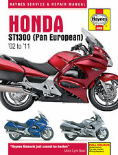 Haynes Manual for Honda ST1300 Pan European (2002 - 2011) owners workshop HM4908