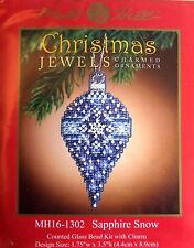 Mill Hill Cross Stitch Bead Kit Christmas 'Sapphire Snow' Jewels 16-1302
