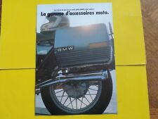 BMW R 80 65 45 gamme accessoires moto publicité catalogue catalog prospekt 1983