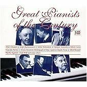 Great Pianists of the Century (5 disc CD set 1999)