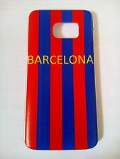 NEW blue & red  Barcelona Case Cover for Samsung Galaxy S7 EDGE free post to uk