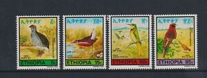 Ethiopia - 1985, Birds set - MNH - SG 1305/8