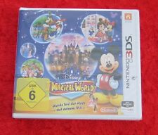 Magical World Disney, 1 Nintendo 3D 3DS Spiel, Neu, deutsche Version