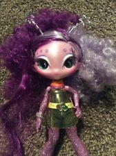 "Ari Roma Novi Stars With Glittery Purple Alien Doll Uni Versa Doll 7"" W/ Clothes"
