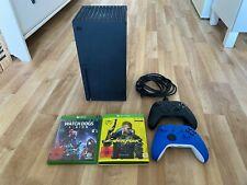 Xbox Series X inkl. 2 Controllern + Cyberpunk 2077 + Watch Dogs Legion