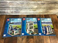LEGO City Police Station 60047 REPLACEMENT Instruction Booklets Manuals 4 5 6