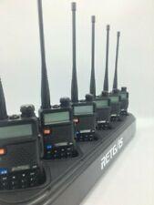 Six (6) Dual Band Two-Way Radios (BaoFeng Uv-5R)