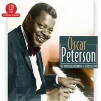 Oscar Peterson - Absolutely Essential 3CD Collection (2016)  NEW  SPEEDYPOST