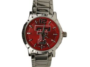 Texas Tech Red Raiders Men's Watch Rhinestone Officially Licensed Product
