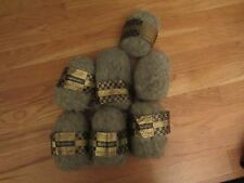 Spinnerin Mohair in the blend grey color #756 7 1oz skeins 55 yards each NEW!