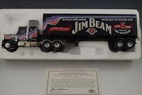 MATCHBOX PETERBILT JIM BEAM TRACTOR TRAILER TRUCK 1:64 SCALE DIE CAST MIB