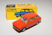 !!@ LION CAR DAF 44 CAR STATIONCAR WAGON  RED-ORANGE NEAR MINT BOXED