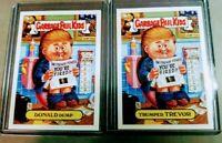 2004 GPK DONALD Dump / Trumped TREVOR - Garbage Pail Kids ANS3 - Mint condition