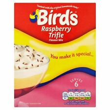 Bird's Trifle Raspberry Flavour Mix - 145g - Pack of 3