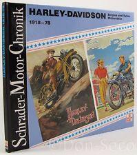 Schrader Motor-Chronik Bd. 43 Harley-Davidson 1918 - 78