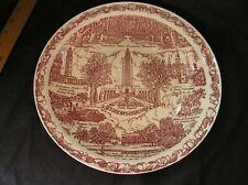 """Vintage Vernon Kilns State Of Louisiana Souvenir State Plate, 10"""" 1943"""