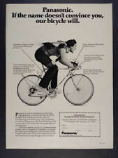 1976 Panasonic Bicycles Villager 10-speed Bike photo vintage print Ad