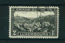 Luxembourg 1928 landscape stamp. Used. Sg 279a.