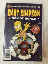 Bart Simpson #1 VF condition Bongo comics
