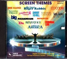 Screen Themes Soundtrack CD John Scott/RPO Die Hard/Roger Rabbit/Betrayed