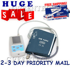 USA STOCK! CONTEC NIBP Monitor Ambulatory Blood Pressure Monitor Holter ABPM +SW