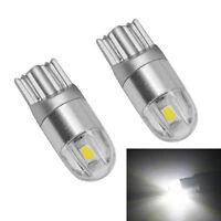 4*Osram T10 W5W 168 2 LED 6500K Car SUV interior Reading Light 12V DC White Lamp