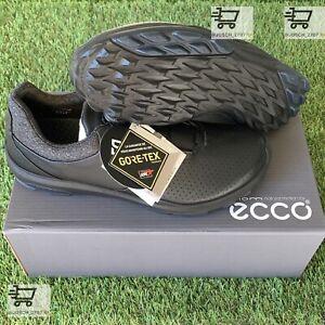Ecco Biom BOA Hybrid 3 H3 GTX GORE TEX Black Golf Shoe Sneaker ⛳️ EU 45 US 11 .5