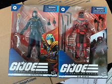 2020 Hasbro GI Joe Classified Series Cobra Red Ninja + Cobra Commander IN HAND