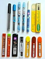 ASSORTED PENCIL REFILL LEADS (0.3mm to 2.0mm) x 60mm - HB/B/2B