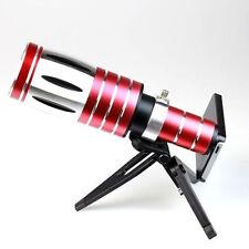 Aluminum 50X Optical Zoom Telescope Camera Phone Lens +Case+Tripod For iPhone X