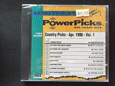 SOUND CHOICE Karaoke Music Power Picks Country Apr. 1998 Vol 1 CD+G 3059 !RARE!