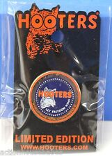 HOOTERS OF AMERICA PRESIDENTIAL WORLD WIDE WING COMMANDER II SEAL PIN