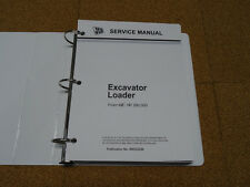 JCB 3C/CX 1400B, 3C/CX 1550B, 3D, 4CN 1700B Loader Backhoe Service Shop Manual
